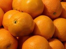 Frische Navel-Orangen stockbilder