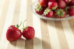 Frische nette Erdbeere Lizenzfreie Stockfotografie