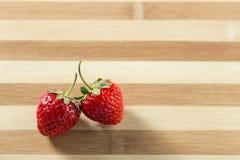 Frische nette Erdbeere Lizenzfreies Stockbild