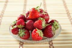 Frische nette Erdbeere Lizenzfreies Stockfoto