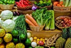 Frische Obst und Gemüse lizenzfreies stockbild