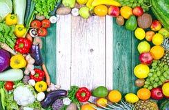 Frische Obst und Gem?se von Nigeria stockfoto