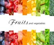 Frische Obst und Gemüse Stockfoto