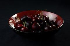Frische Obstgarten-Kirschen 3 Stockfotos