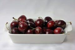 Frische Obstgarten-Kirschen Stockbild