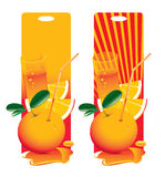 Frische Orange Vektor Abbildung