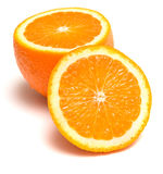 Frische Orange stockbild