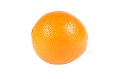 Frische Orange auf Weiß Lizenzfreies Stockfoto