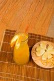 Frische Orangeade lizenzfreie stockbilder