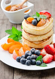 Frische Pancakes Stock Photo