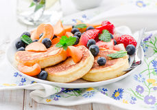 Frische Pancakes Stock Photography