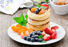 Frische Pancakes Royalty Free Stock Photo
