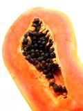 Frische Papaya der Nahaufnahme Lizenzfreie Stockbilder