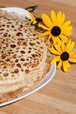 Frische Pfannkuchen Stockbilder