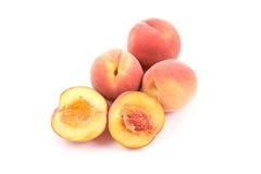 Frische Pfirsiche Stockbild