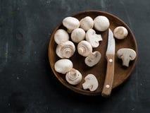 Frische Pilze lizenzfreies stockbild