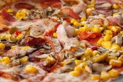 Frische Pizza Lizenzfreies Stockbild