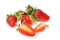 Frische reife Erdbeeren Lizenzfreie Stockbilder