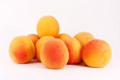 Frische riped Aprikosen Lizenzfreie Stockbilder