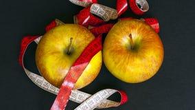 Frische rote Äpfel Lizenzfreies Stockbild