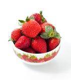 Frische rote Erdbeeren Stockfoto