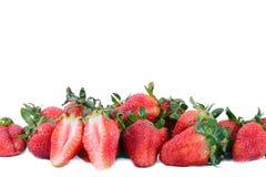 Frische rote reife Erdbeeren Lizenzfreies Stockfoto