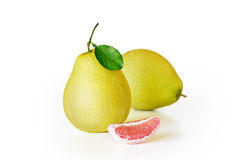 Frische saftige Pampelmusenfrucht stockbilder
