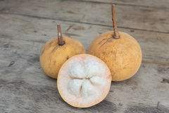 Frische Santol-Frucht Lizenzfreie Stockfotos