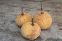 Frische Santol-Frucht Stockbilder