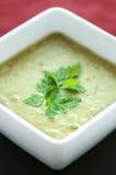 Frische Spalte-Erbsen-Suppe Lizenzfreies Stockbild