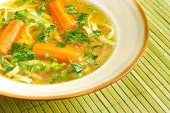 Frische Suppe Stockbild