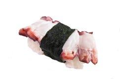 Frische Sushi auf weißem Hintergrund Stockfotografie