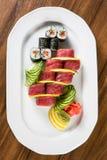 Frische Sushi Rolls Stockfotografie