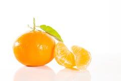 Frische Tangerinen lizenzfreie stockbilder