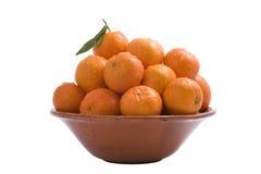 Frische Tangerinen Lizenzfreies Stockbild