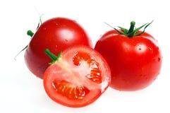 Frische Tomate getrennt Lizenzfreies Stockfoto