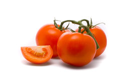 Frische Tomaten. Lizenzfreie Stockfotos