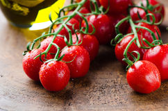 Frische Tomaten Stockfoto