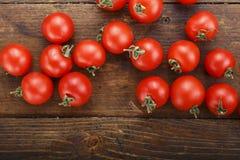 Frische Tomaten Es kann als Hintergrund verwendet werden Selektiver Fokus Stockfotografie