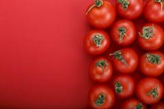 Frische Tomaten Es kann als Hintergrund verwendet werden Selektiver Fokus Stockfotos