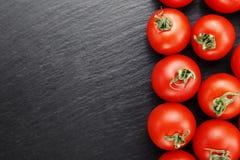 Frische Tomaten Es kann als Hintergrund verwendet werden Selektiver Fokus Lizenzfreie Stockbilder