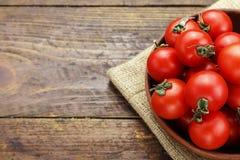 Frische Tomaten Es kann als Hintergrund verwendet werden Selektiver Fokus Stockfoto