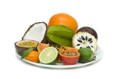 Frische tropische Früchte lizenzfreie stockfotos
