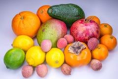 Frische tropische Früchte stockfoto