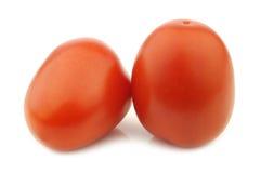 Frische und bunte Italienerrom-Tomaten stockfoto