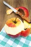 Frischer und gesunder Apfel Stockfotografie