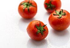 Frische und reife rote Tomaten Lizenzfreies Stockbild