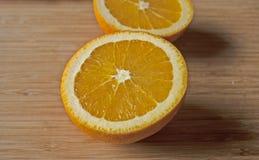Frische und saftige Orangen Lizenzfreie Stockfotos