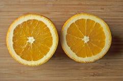 Frische und saftige Orangen Stockfotografie