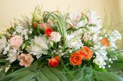 Frische und wohlriechende Blumen Stockbild